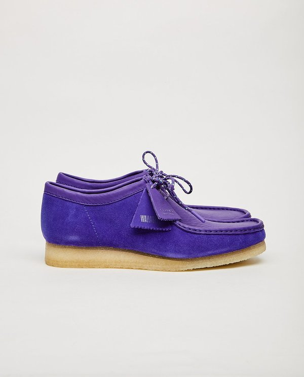 CLARKS Wallabee shoes - Purple Combination