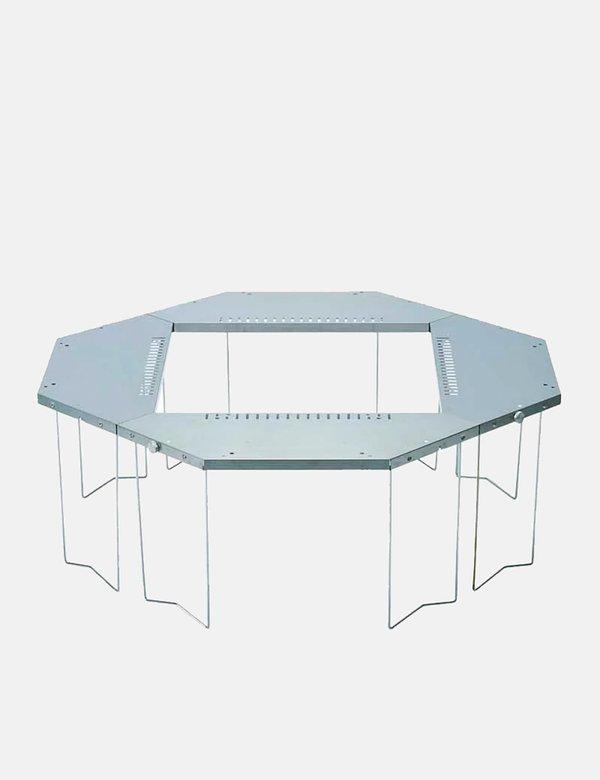 Snow Peak Jikaro Firering Table - Stainless Steel