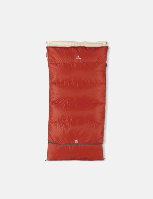 Snow Peak Ofuton 110 x 210 cm wide LX Sleeping Bag - red