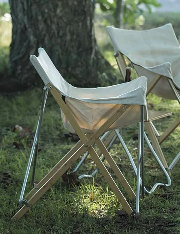 Snow Peak Take! Bamboo Chair - White