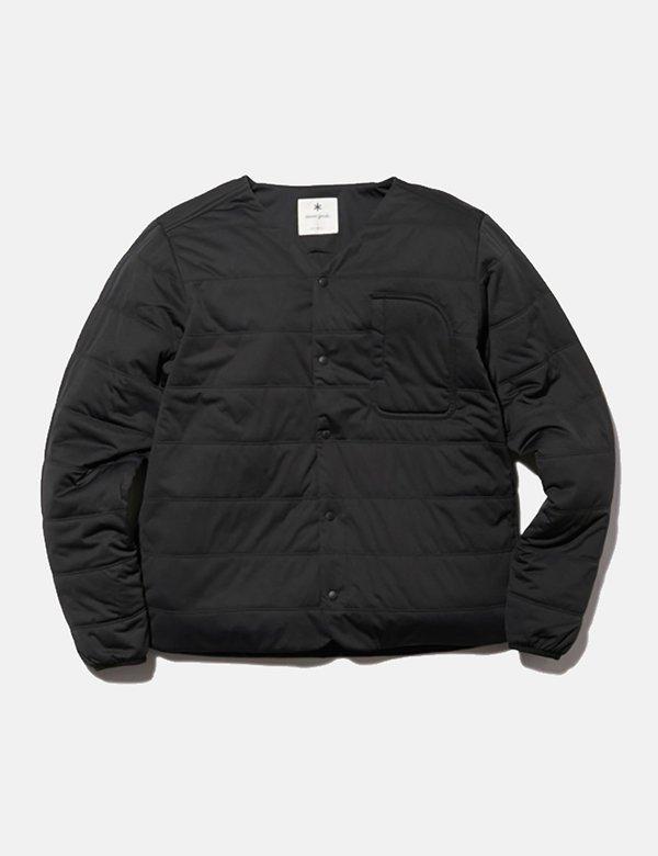 Snow Peak Flexible Insulated Cardigan - Black