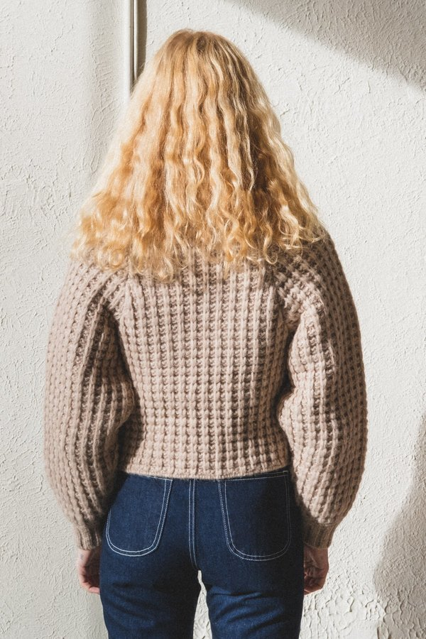 Shaina Mote Andes Sweater - Melange Beige