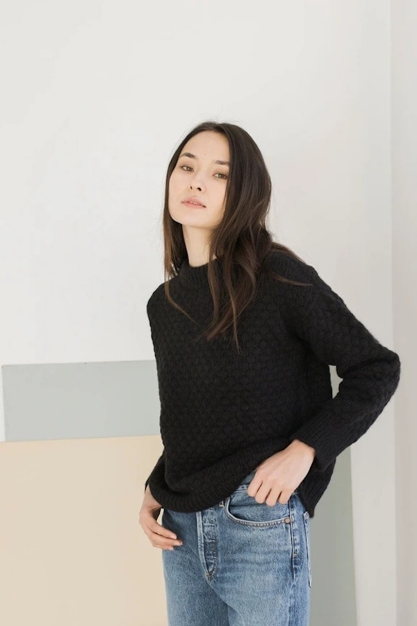 Bare Knitwear Pebble Crew Neck