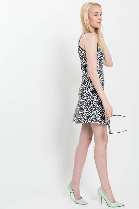 A.L.C. 'Buster' Floral Knit Dress