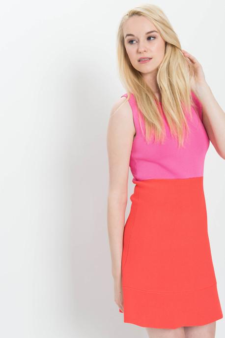 A.L.C. 'Cini' Colour Block Knit Tank Dress