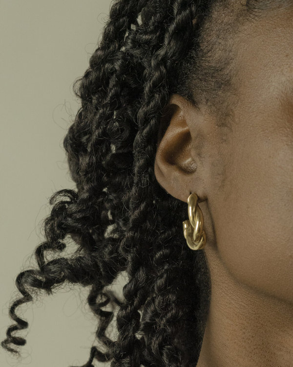 Eyde Lieba Hoop Earrings