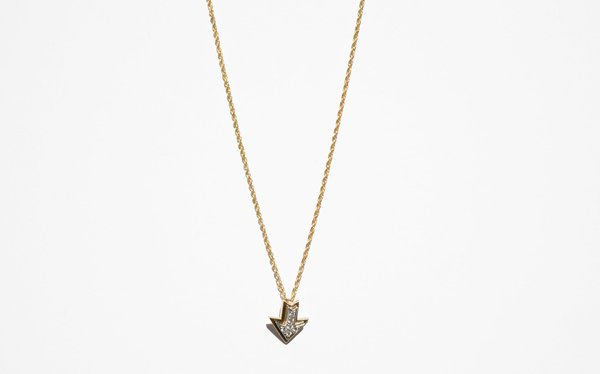 Kindred Black Sweet Peace necklace - 14k gold