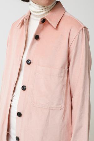 Creatures of Comfort Perry Top - pink velvet