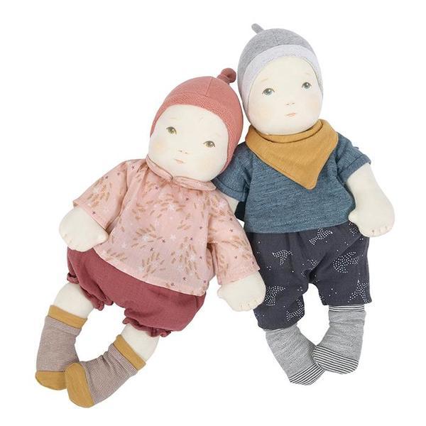 Kids Moulin Roty Les Bébés Baby Girl Doll Set