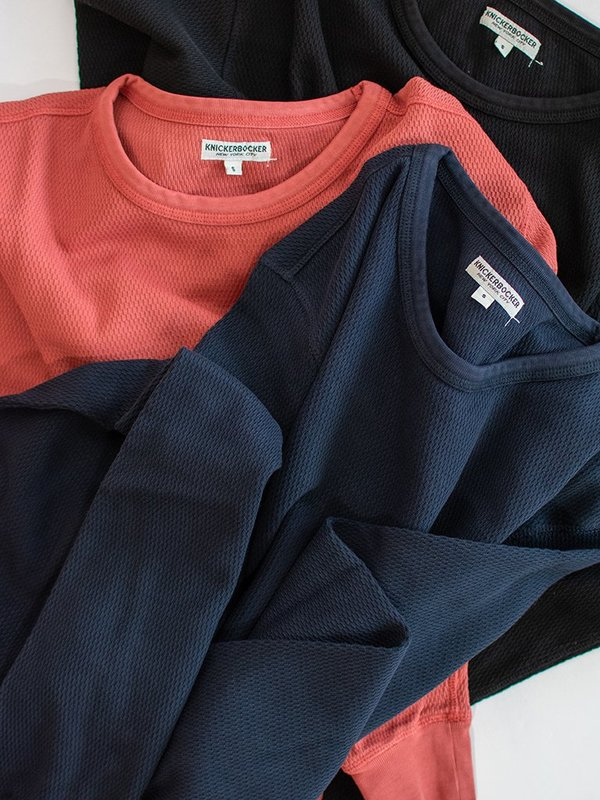 Knickerbocker Heavyweight LS Layer Sweatshirt - Black