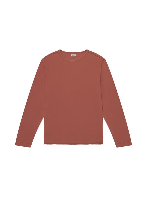 Knickerbocker Heavyweight LS Layer Sweatshirt - Brick