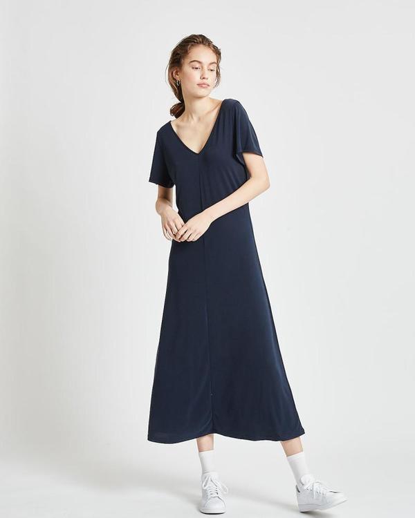 Minimum Siah Midi Dress