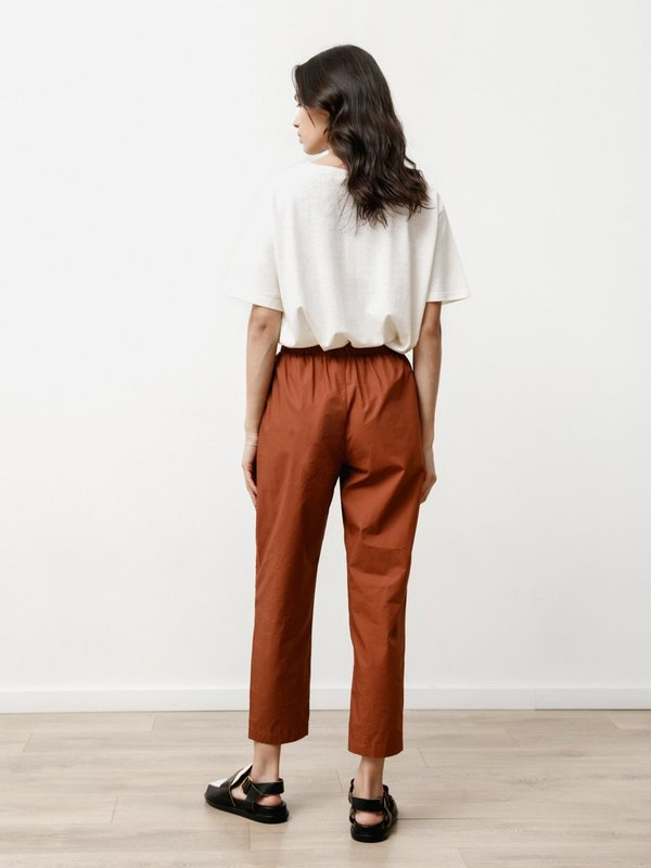 Priory Tile Pant - Light Poplin Chestnut