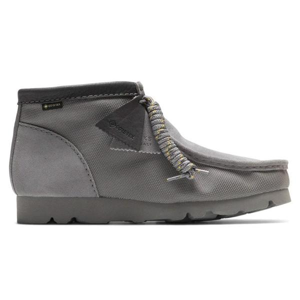 Clarks Wallabee Gore-Tex Boot - Light Grey