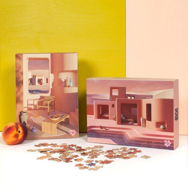 Slowdown Studio Adobe Poolside 1000 Piece Puzzle
