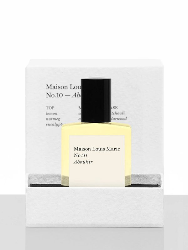 unisex Maison Louis Marie Perfume Oil | No. 10 Aboukir