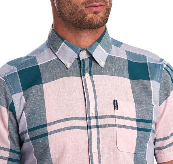 BARBOUR Douglas Short Sleeved Shirt - Pink