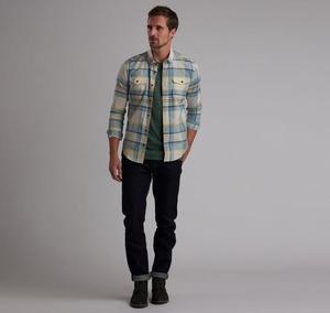 Barbour International Steve Mcqueen™ King Check Slim Fit Shirt