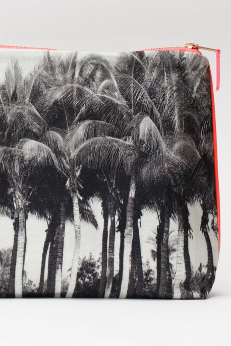 Punta Palms Canvas Pouch