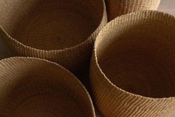 TWENTY ONE TONNES Oversized Bowl Baskets