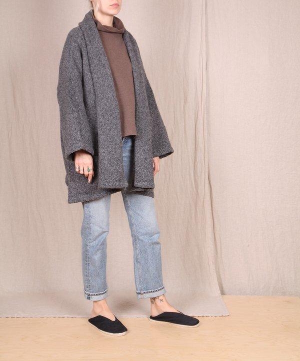 Atelier Delphine Baby Alpaca Haori Coat