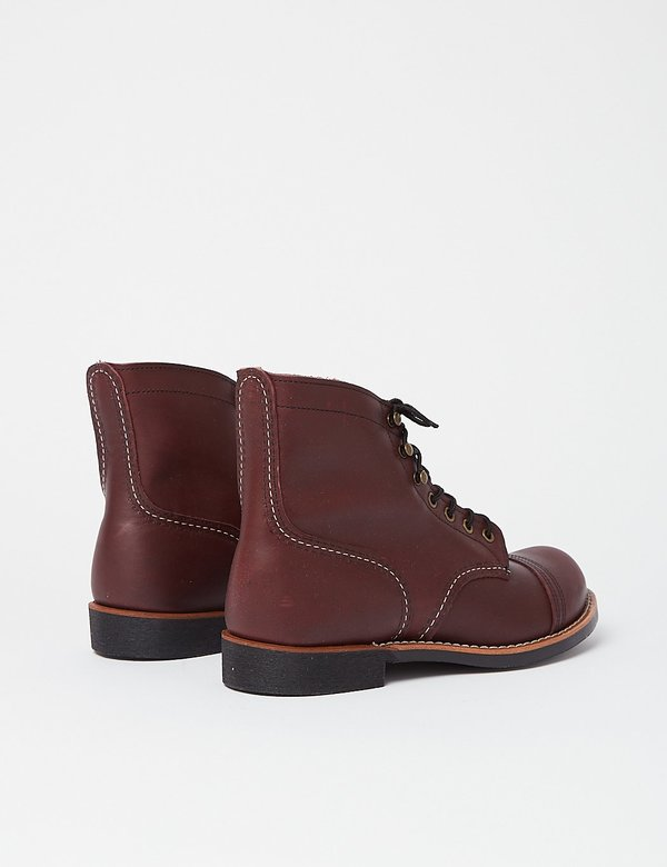 "Red Wing Shoes Heritage 6"" Iron 8119 Ranger Boots - Oxblood"