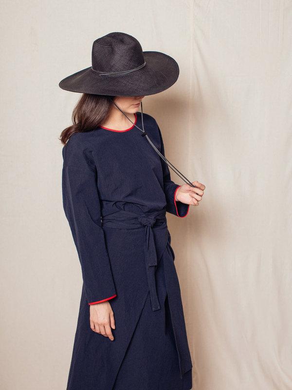 Brookes Boswell Boro Straw Hat