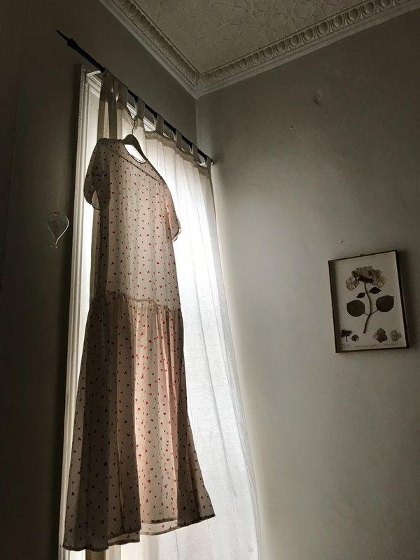 BEFORE MARCH Bonnie dress - sandwashed silk