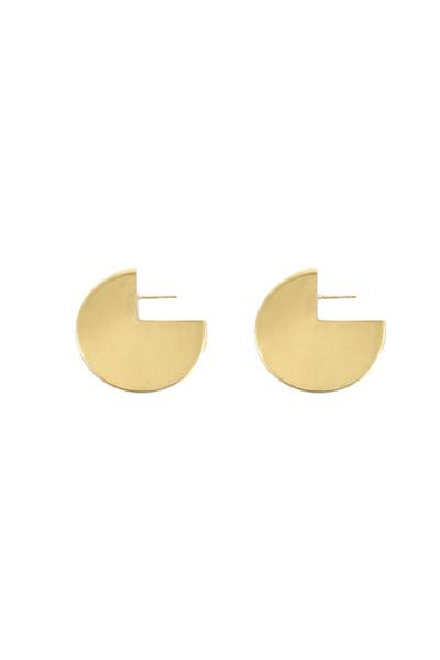 Young Frankk CIRCLE EARRINGS - GOLD