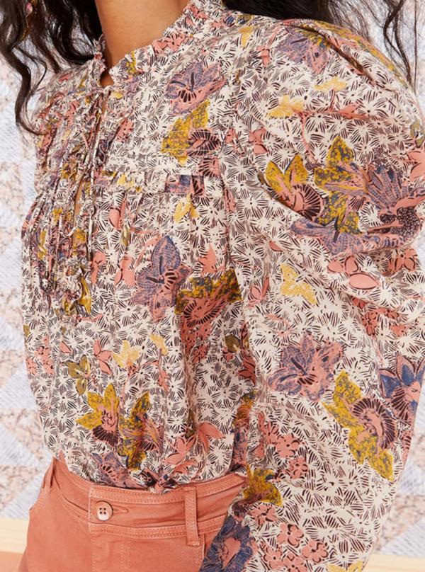Ulla Johnson Remy Blouse - Ivory