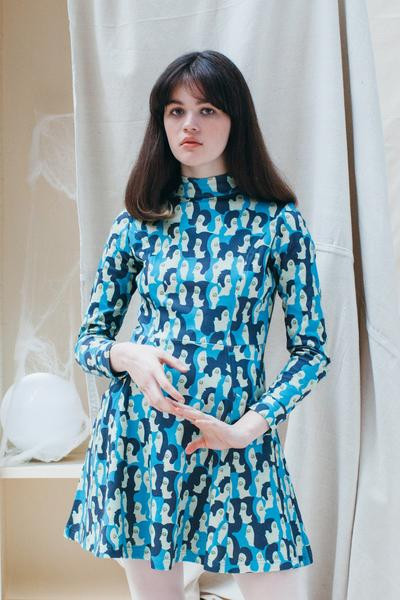 Samantha Pleet Requiem Dress (1000 Faces Print)