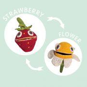 MyuM Sally Strawberry Toy
