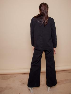 Carleen Nellie Wide Leg Jeans - Black