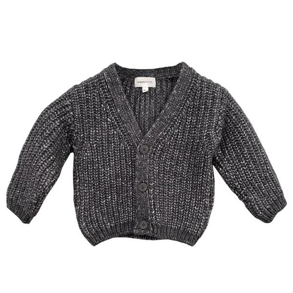 KIDS Pequeno Tocon Baby Old Wool Cardigan