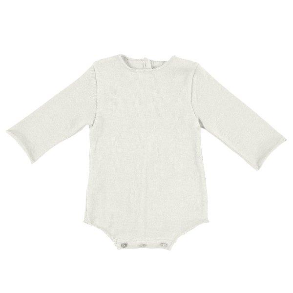 KIDS Pequeno Tocon Baby Rulo Bodysuit - Natural Cream