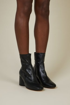 """""""INTENTIONALLY __________."""" Luck Boot - Black Leather"""