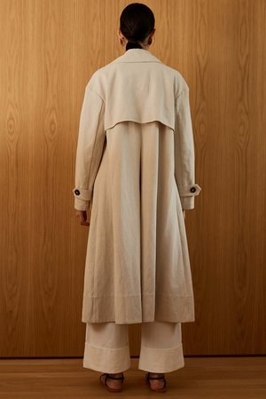 St. Agni Neda Trench Coat