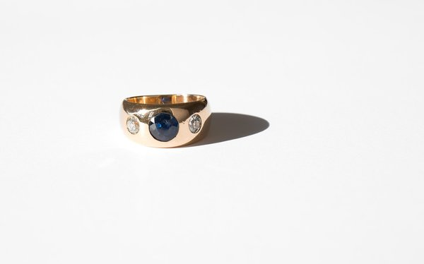 Kindred Black Galizia Ring - Gold