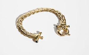 Kindred Black Caelius Bracelet - 14k Gold