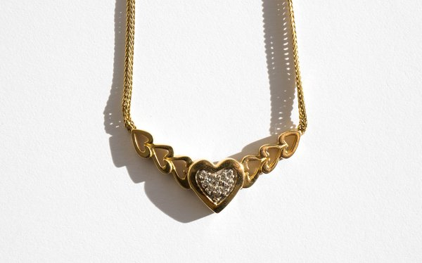 Kindred Black Once Again Undone Possessed Necklace - 14k Gold