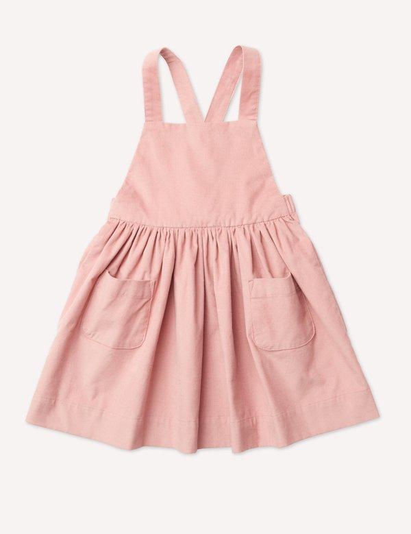 Kids Petits Vilains Inès Pinafore Dress - Petal