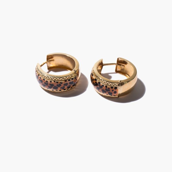 Kindred Black Sahara Earrings - 14K gold