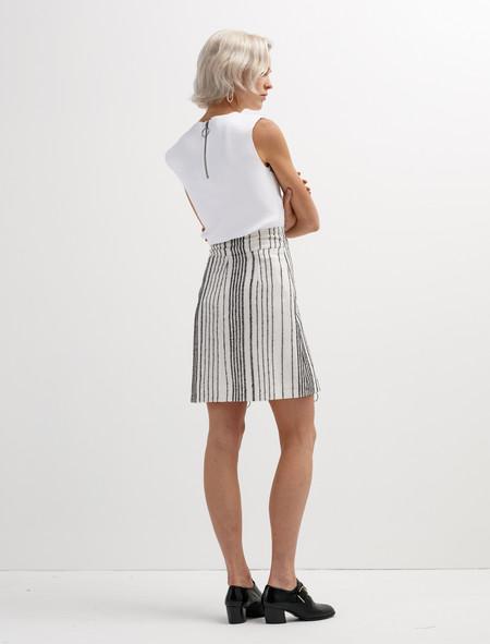 Etienne Deroeux Leona Zip Skirt