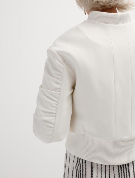 Etienne Deroeux MA-1 Jacket - white