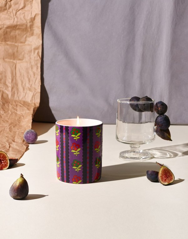Cynthia Rowley Into the Woods Ceramic Jar Candle