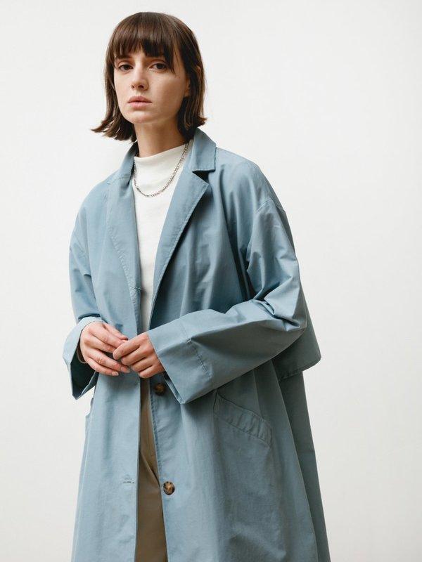 Priory Bell Jacket - Anorak Steel Blue