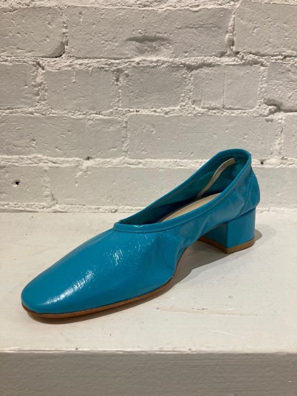 Maryam Nassir Zadeh Roberta Ballerina Heel - Turquoise