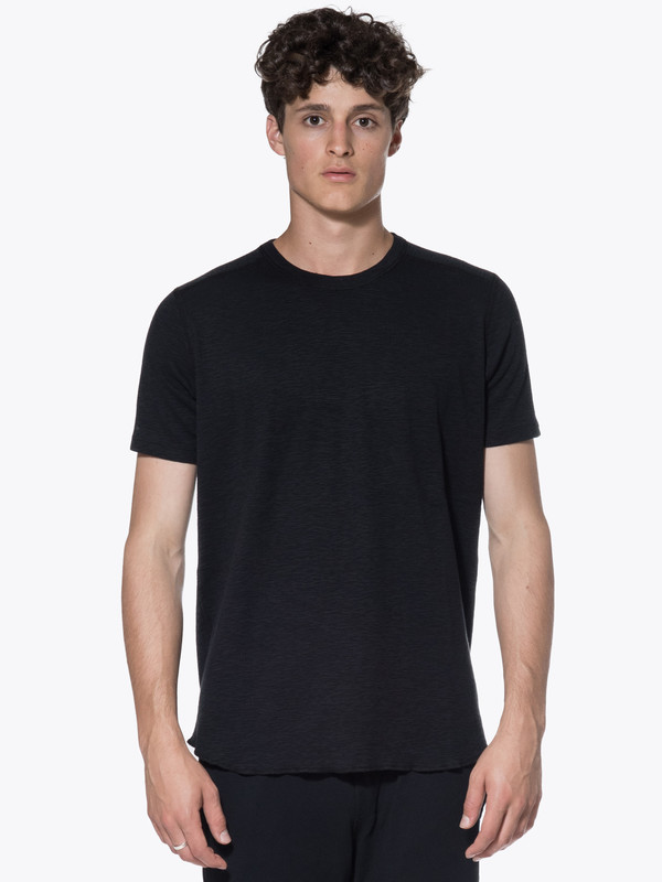 Horns Mens 1x1 Slub Tee Wings
