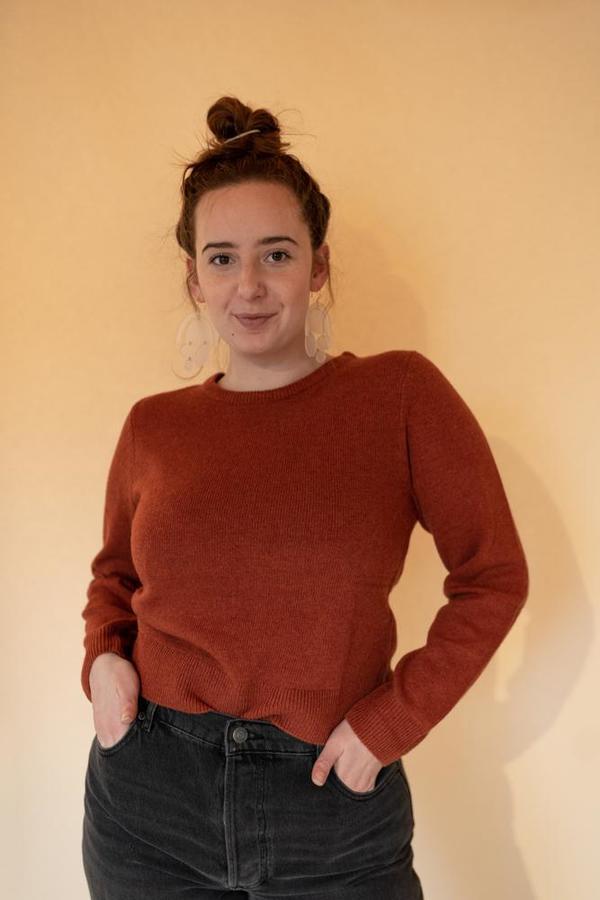Bridge & Burn Remy sweater - Rust Heather