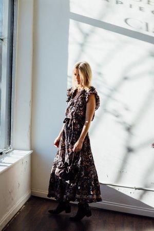 Ulla Johnson Greta Top - Obsidian